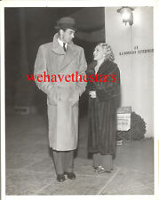 Vintage Gary Cooper ESCORTS Mary Pickford AT BROWN DERBY '33 PRESS Candid