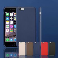 luxe Cuir PU Coque Étui Arrière Etui protection Housse pour iPhone 5 6 6s 7 Plus