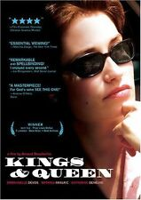 NEW SEALED!! Kings and Queen, a film by Arnaud Desplechin  (DVD, 2005)