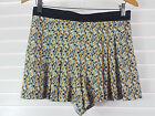 ZARA sz 10 (or 38 eur / 6 us ) womens high waisted shorts