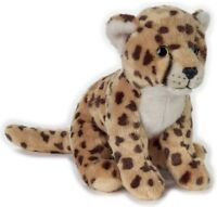 NATIONAL GEOGRAPHIC CHEETAH PLUSH SOFT TOY 22CM STUFFED ANIMAL - BNWT