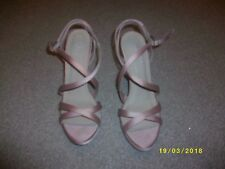 Ladies Pink Slim Heeled Shoes Size 8 from New Look