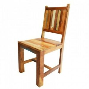 Nirvana Reclaimed timber Boat wood Dining Chair INDIAN HANDMADE FURNITURE