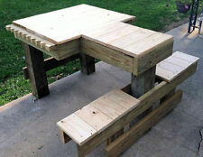 Custom Shooting Bench Plans, Easy to Build in One Day! Plus Handloaders Library!