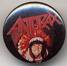 Anthrax Badge Button #3CONTORT