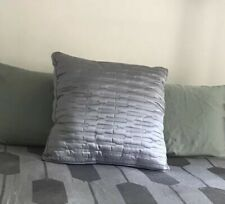 Hotel Collection Euro Quilted Pillow Cover, Gray