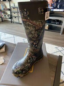 """LACROSSE 18"""" Alphaburly Pro Boot, Mossy Oak/Breakup Country, Size 11 (376027)"""