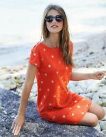 Boden Kleid - Paulina Jersey Dress - Jerseykleid Orange - NEU - UK 8 EU 36