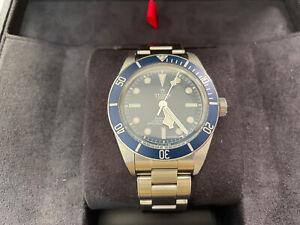 TUDOR Black Bay 58 Blue 79030b Men's Bracelet Diver Watch Box & Papers June 2021