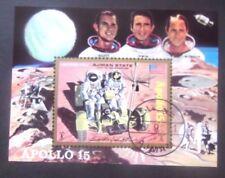 Ajman-1971-Apollo 15/Moon Buggy Minisheet-Imperf used