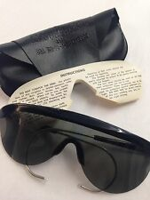 US Army Issue 1970s Aviator SUNGLASSES ~ Rochester Optical ~ MIL-S-475D  1974