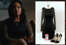 Addicted Zoe Reynard Sharon Leal Hero Movie Costume Karen Miller Dress & Shoes