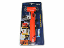 EMERGENCY CAR WINDOW WINDSCREEN HAMMER SMASHER BREAKER + SEAT SAFETY BELT CUTTER