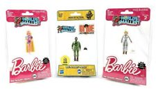 Worlds Smallest GI Joe and Barbie S2 - Totally Hair & Astronaut ~ Set of 3