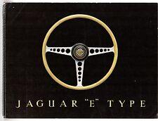 Jaguar E-Type 3.8 Litre Series 1 1961-64 UK Market Spiral Bound Sales Brochure