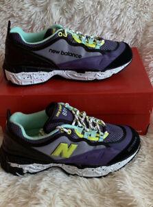 Men's Sneakers Size 8.5 New Balance Classics 801 purple/Black/Yellow ML801F0