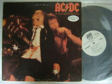 PROMO WHITE LABEL / AC/DC IF YOU WANT BLOOD / JAPAN CLEAN VINYL