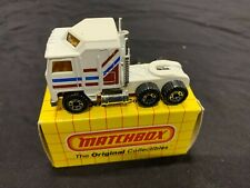 Vintage Matchbox 1983 Kenworth Aerodyne Big Rig Truck Mint In Original Box