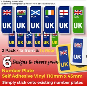 UK stickers Decals 6 Designs Great Britain Wales Scotland Ireland