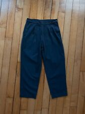 MHL by Margaret Howell Navy Cotton Trousers