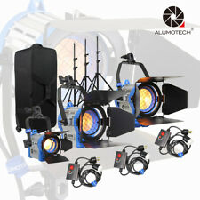 As Arri 150W/300W/650W Fresnel Tungsten 3200K Spot Light+Stand*3+Dimmer*3 Kit
