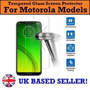 Genuine Tempered Glass Screen Protector for Motorola E6 G8 Power Lite G7 Play