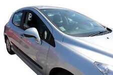 DPE26132 Peugeot 308 hatchback 2007-2013 wind deflectors 4pc TINTED HEKO