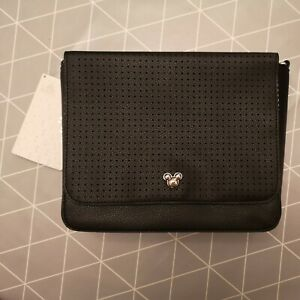 Mickey Mouse Icon Square Crossbody Pin Collecting Flair Bag Black New with Tags