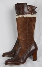 Auth Ugg Boots Sn 5598 Shearling Bomber Aviator Steampunk