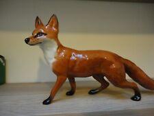 Large Beswick Rust/Brown Glossy Standing Fox