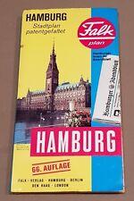 Falk map of Hamburg.