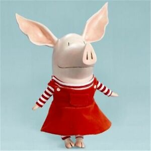 "Madame Alexander ""Olivia the Pig"" # 52100 Retired 10"" Vinyl Play Doll"