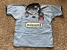 Canterbury Cotton/Poly NSW State of Origin Blues Wizard Rugby Large Shirt NWOT