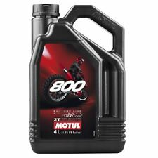 Motul 800 2T Factory Line Off Road 2 Stroke Motorcycle Engine Oil - 4 Litre