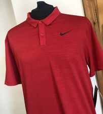 Nike Tiger Woods Dry Stripe Golf Polo Shirt (932196 687) Size Medium New TW