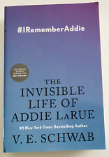 The Invisible Life of Addie LaRue V. E. Schwab Paperback 9780765387561 ARC Proof