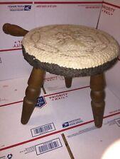 Vintage Milking Stool Authentic Furniture Products El Segundo California Japan