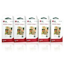 "Zink 2x3"" Photo Paper 150 Sheets for LG Pocket Photo Printer PD241 PD269"