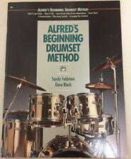 Alfred'S Beginning Drumset Method Dave Black & Sandy Feldstein c1990