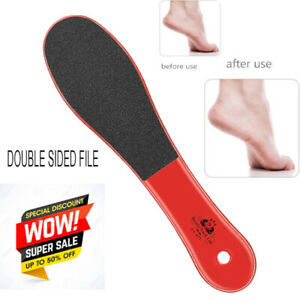 Double Sided Foot File Feet Rasp Pedicure Scrubber Hard Dead Skin Callus Remover