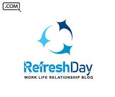 RefreshDay .com  - Brandable Domain Name for sale - WORK LIFE BLOG DOMAIN NAME