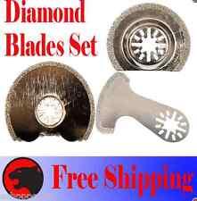 3 Diamond Cut Oscillating Multitool Blade For Bosch Multi X Ridgid Jobmax Ryobi