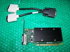 NVIDIA NVS 300 512 MB PCI Express x16 Dual Monitor CARD Splitter + Cavo