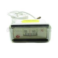 White Liquid Water Heater Temperature Meter Sensor Mechanical Scale 20-110℃