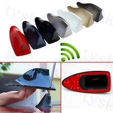 Universal Auto Roof AM FM Radio Shark Fin Antenna Aerial Signal Trim Accessory