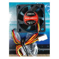 Evercool 40MM X 10MM Ball bearing 5V Fan, 3Pin, EC4010M05CA