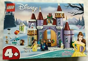 Lego 43180 Disney Belle's Castle Winter Celebration Damaged box ~NEW & Unopened~