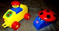 Lego Duplo Auto Schnecke Rennauto  Flitzer Pilz aus Set 2400 Fahrzeug