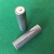 LFP IFR 2 un. 14500 600mAh 3.2V LI-ION Batería LiFePO 4 tipo AA tamaño tipo del consumidor