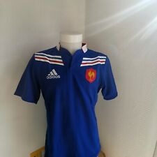 superbe  maillot de rugby FRANCE   marque adidas   taille M